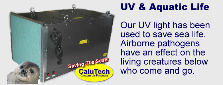 UV air purifiers for aquariums