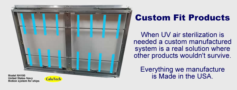 UV air purifiers custom manufacturing